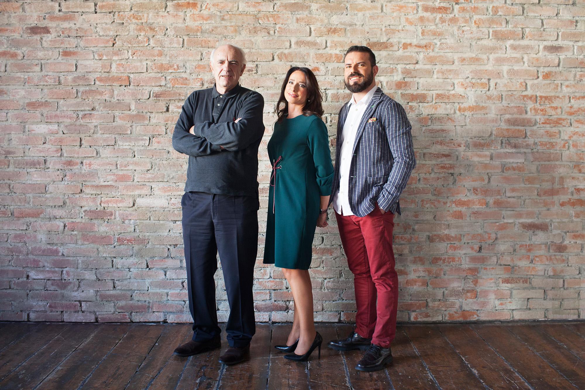 Gerry Grassi con gli esperti di Matrimonio A Prima Vista